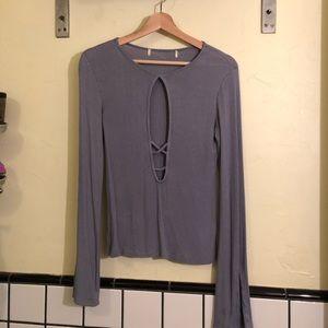 UO lilac long sleeve